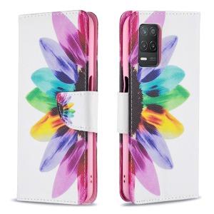 Θήκη Realme 8 5G OEM Colorful Petals με βάση στήριξης