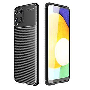 Θήκη Samsung Galaxy A22 4G OEM Beetle Series Carbon Fiber Πλάτη TPU μαύρο
