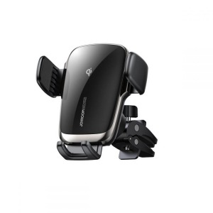 Βάση αυτοκινήτου Joyroom με ασύρματη φόρτιση για τον αεραγωγό (JR-ZS248) μαύρο